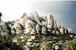 Montserrat-gebergte Psallentes' Llibre Vermell de Montserrat, with Zefiro Torna
