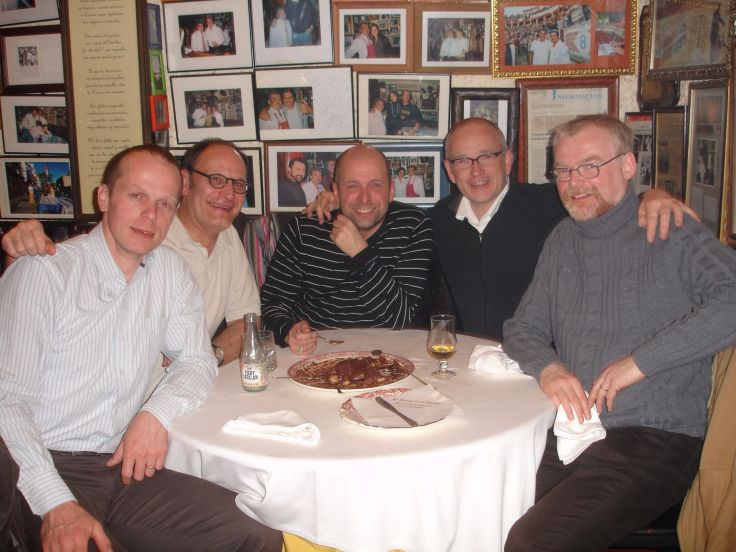 Paul Schils, Philippe Souvagie, Pieter Coene, Hendrik Vanden Abeele, Conor Biggs
