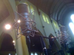 Neumann Solution-D à Kain, Belgique, enrégistrement Psallentes