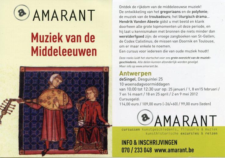 Musica Mediaevalis Hendrik Vanden Abeele Psallentes
