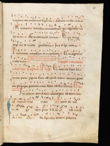 In monte oliveti, Franciscan manuscript - Psallentes' Tenebrae production