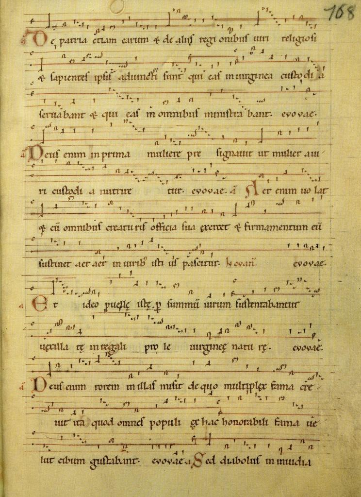 Hildegard von Bingen Dendermonde Codex, Psallentes, Hendrik Vanden Abeele