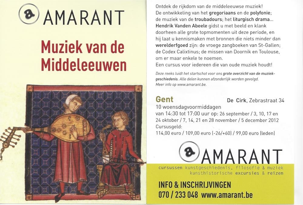 [NL] Musica Mediaevalis: Een muziekgeschiedenis van de Middeleeuwen in veertig toppers