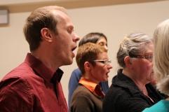 Paul, Monique, Rozelien, Suzanne, piece of Marleen, Machaut workshop Psallentes & Hendrik Vanden Abeele
