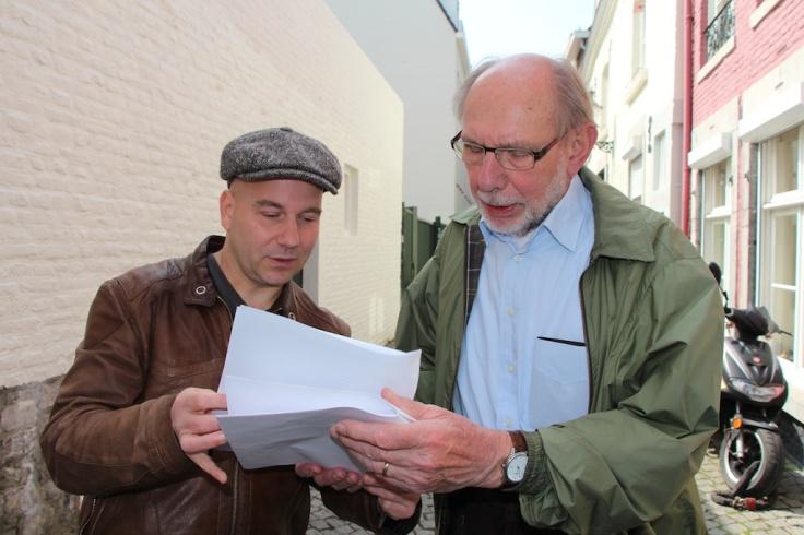 Psallentes en Zefiro Torna op straat in Maastricht