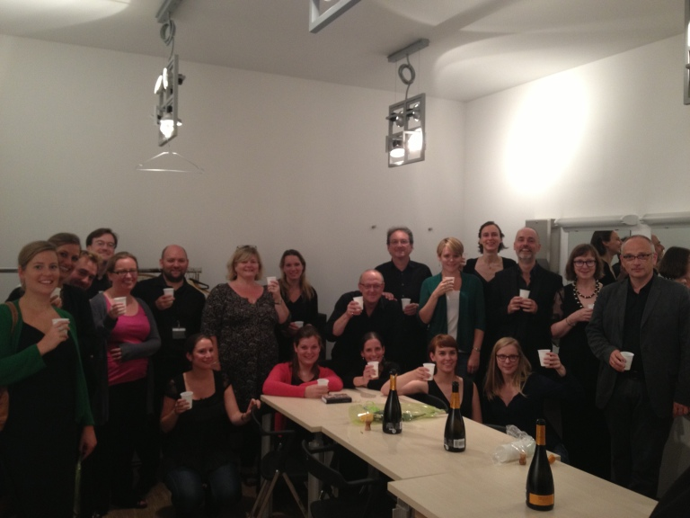 The Tallis Scholars with Psallentes after their 'The Divine Office', Antwerp 2013 Laus Polyphoniae