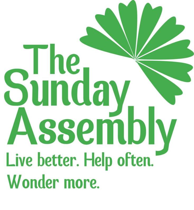 Sunday Assembly on Psallentes site, Guardian article