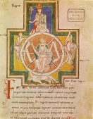 A famous page from the 'Carmina Burana' [München, Bayerische Staatsbibliothek]