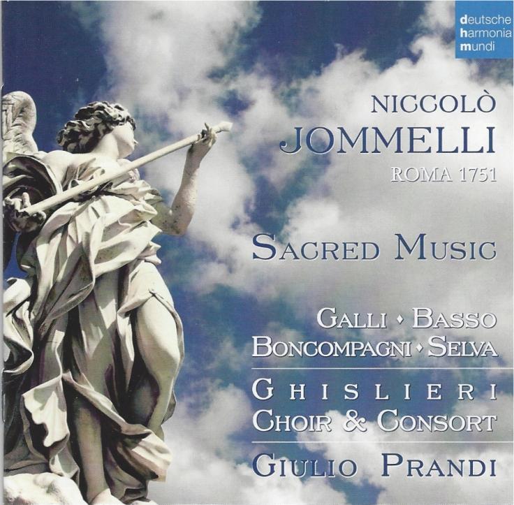 Jomelli by Ghislieri Choir & Consort - Psallentes contribution Hendrik Vanden Abeele
