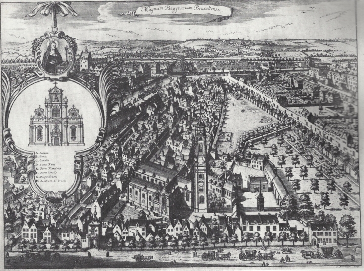 Les Beguinages XII - Brussel - Psallentes Hendrik Vanden Abeele