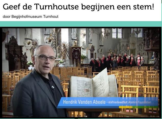 Gezocht Donateurs - Turnhout Processionale - Hendrik Vanden Abeele licht toe