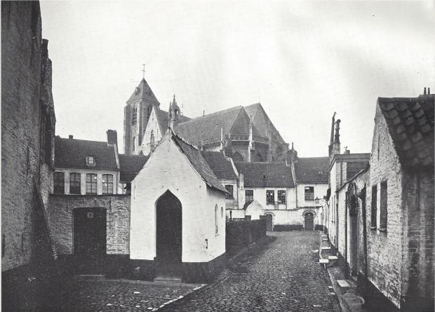 Les Beguinages XXIV - Kortrijk - Psallentes Hendrik Vanden Abeele Beghinae