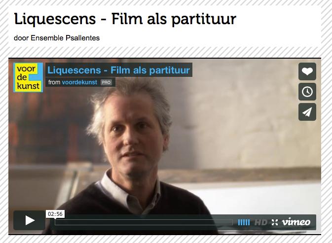 Liquescens Psallentes Brody Neuenschwander / Hendrik Vanden Abeele / Igor De Baecke