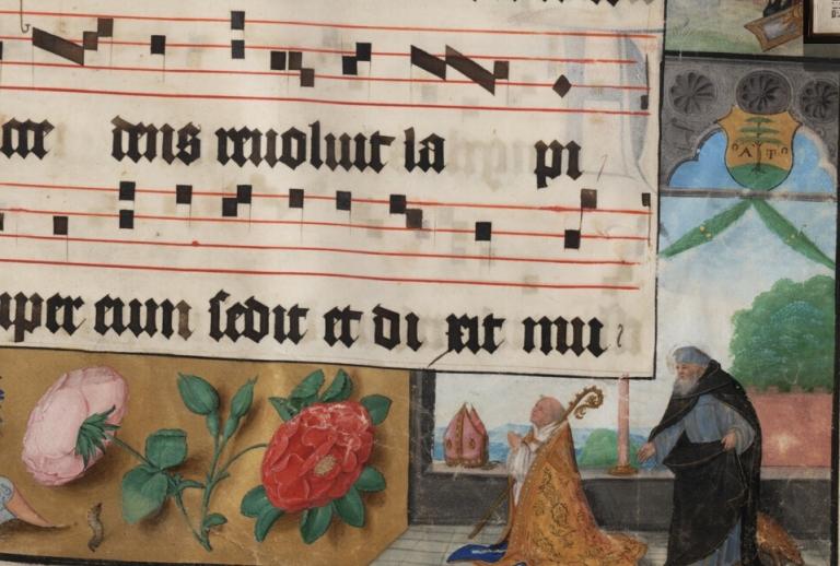 Tsgrooten fragmentje Psallentes workshop Hendrik Vanden Abeele