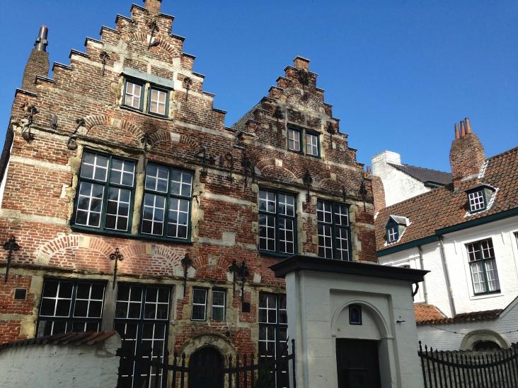 Psallentes te Kortrijk, Beghinae - Foto Hendrik Vanden Abeele