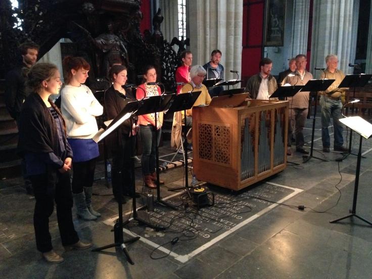 Psallentes Monteverdi Antwerpen kathedraal Laus Polyphoniae Hendrik Vanden Abeele