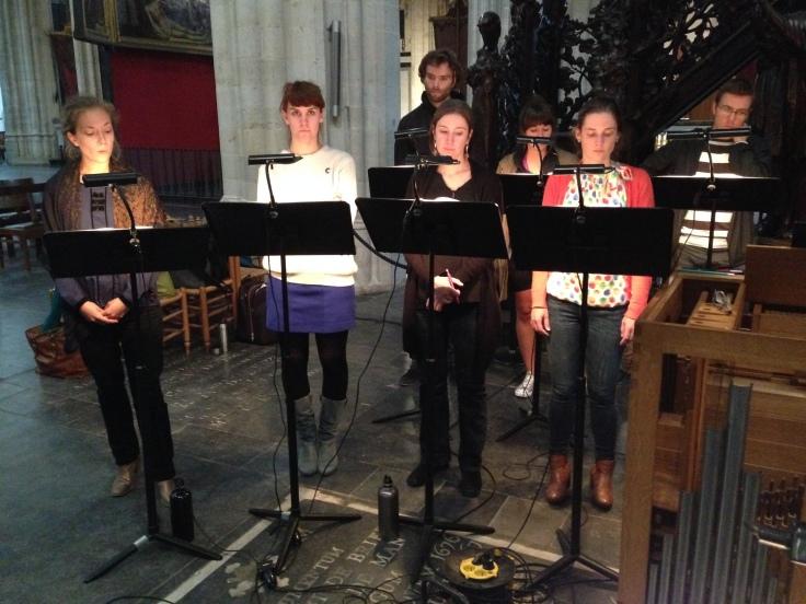 Psallentes Monteverdi In Illo Tempore Antwerpen Laus Polyphoniae Hendrik Vanden Abeele 2014