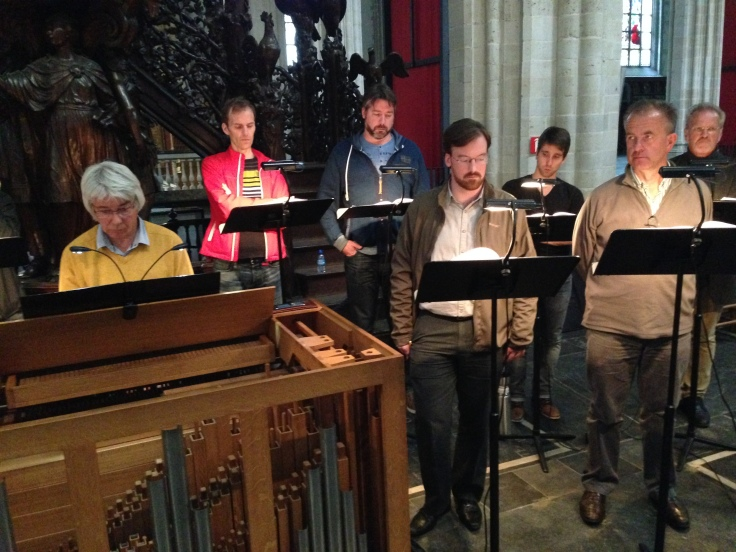 Psallentes Monteverdi In Illo Tempore Antwerpen Laus Polyphoniae 2014 Hendrik Vanden Abeele