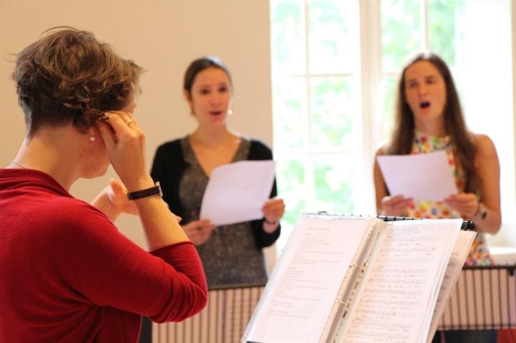 Torstuna project Psallentes and Gemma Karin Strinnholm Lagergren en Hendrik Vanden Abeele