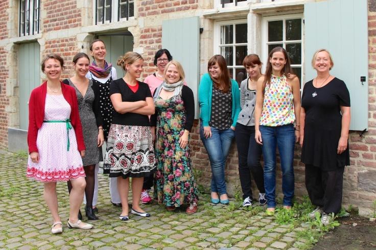 Psallentes en Gemma Torstuna project Karin Strinnholm Lagergren en Hendrik Vanden Abeele
