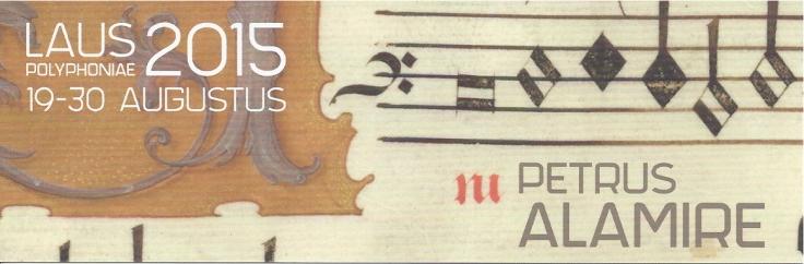 Petrus Alamire @ Laus Polyphoniae — Psallentes Hendrik Vanden Abeele