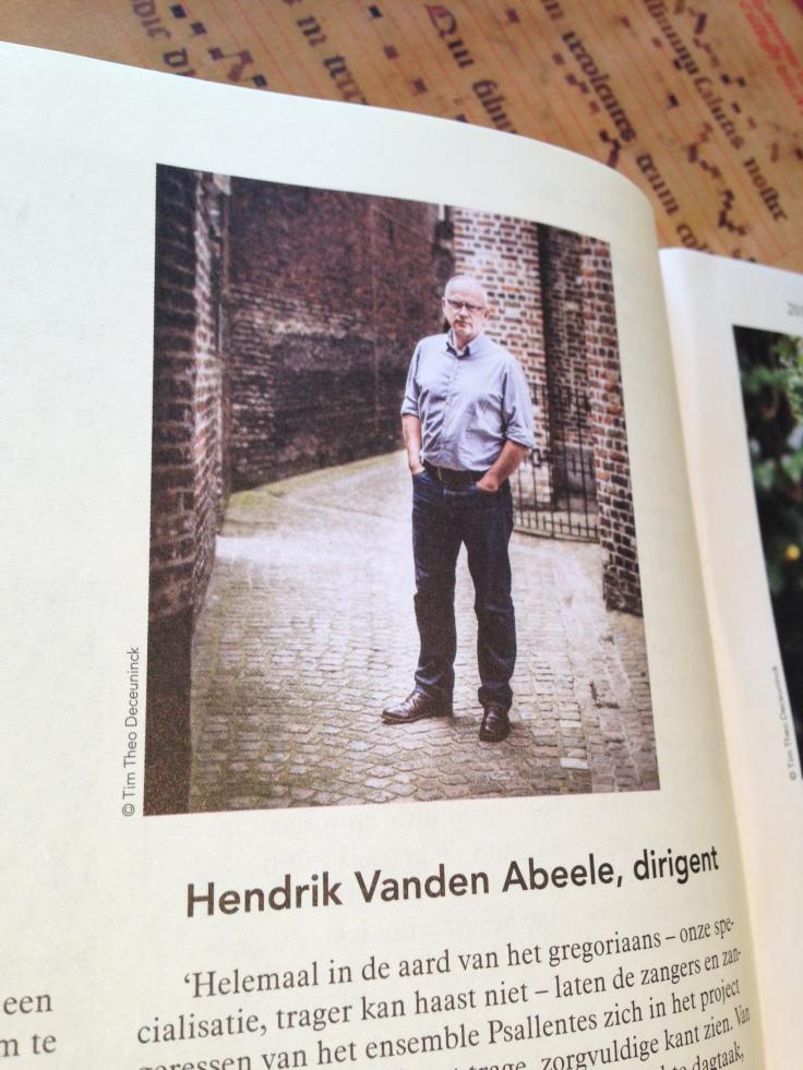 Hendrik Vanden Abeele op SLOW (36h) Brugge Concertgebouw