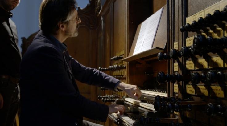 Reitze Smits Bach op Psallentes site