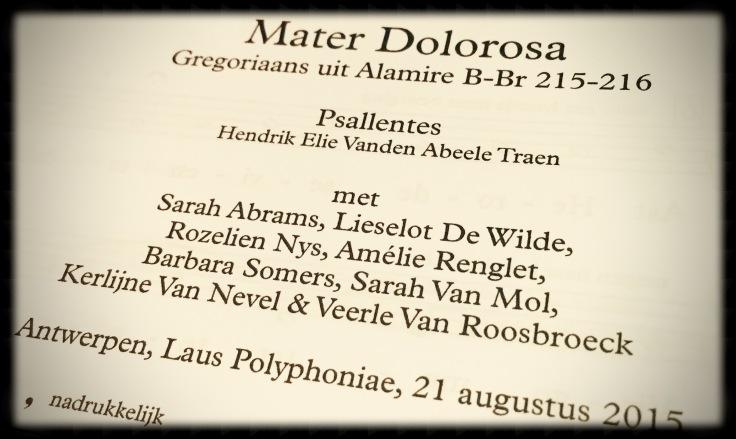 Psallentes. Hendrik Vanden Abeele.