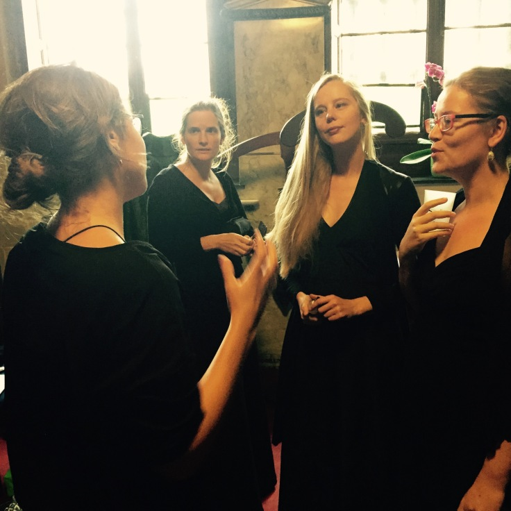 Soetkin Baptist, Sarah Abrams, Lieselot De Wilde, Barbara Somers