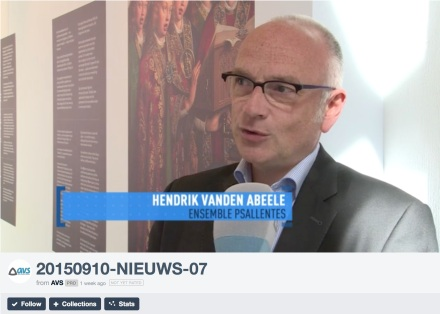 Interview AVS Mystieke Muziek Hendrik Vanden Abeele