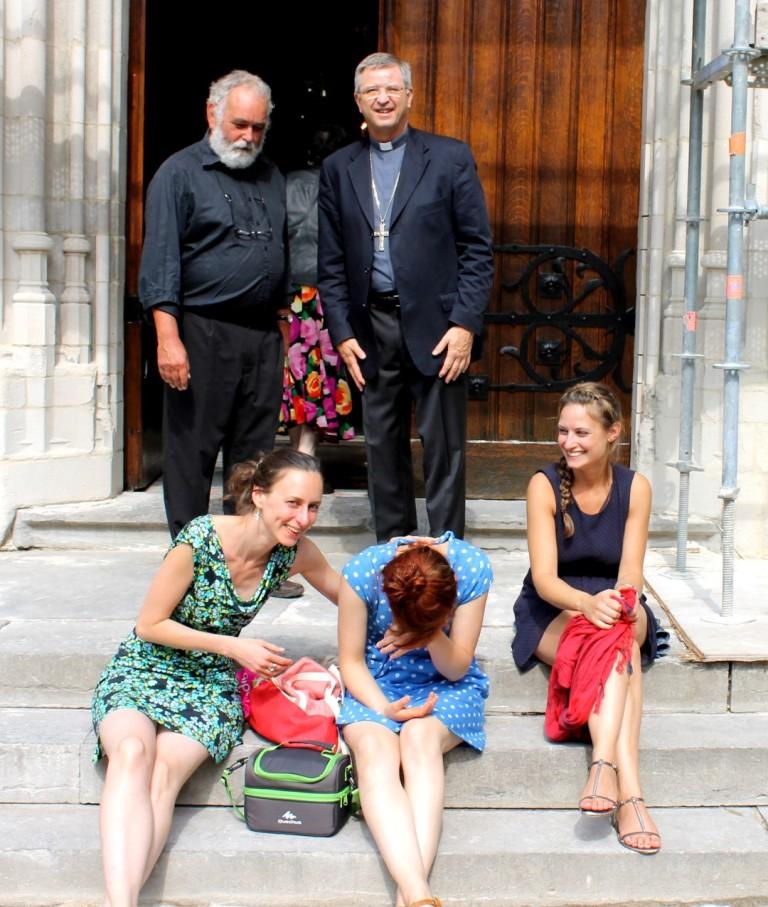 Psallentes, Hans Neels, Johan Bonny. Foto Marion Schmitz.