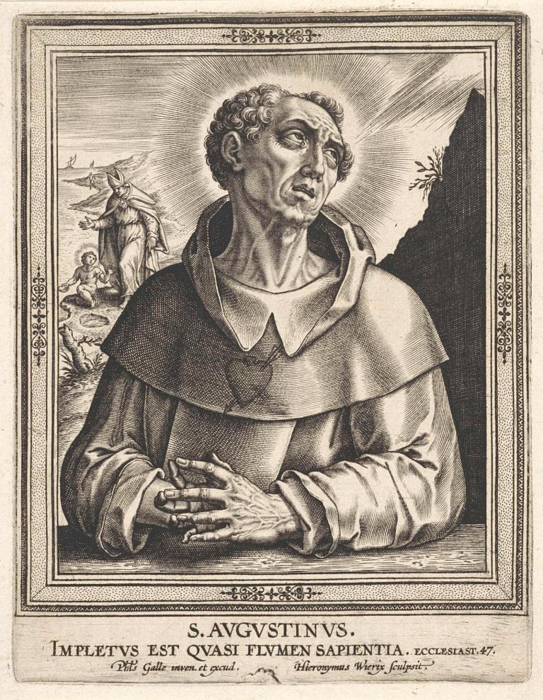 Psallentes te Bellingen. Augustinus.