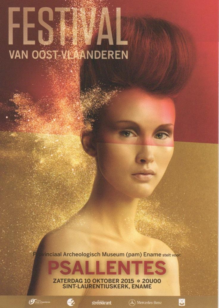 Ename Flyer. Paallentes Hendrik Vanden Abeele.