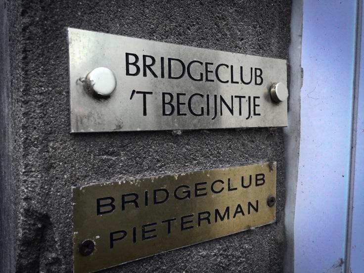Bridgeclub 't Begijntje. Leuven, Koning Leopold I-straat, 16 december 2015, Foto Hendrik Elie Vanden Abeele