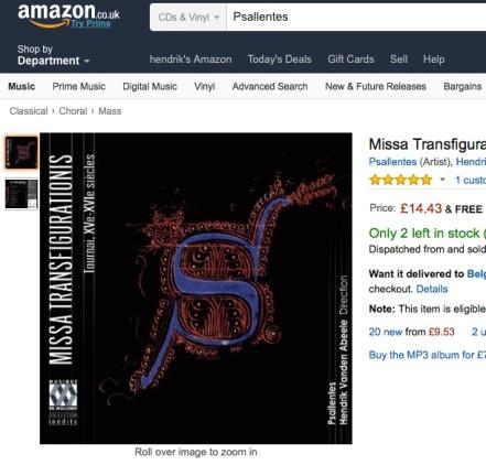 Missa Transfigurationis Amazon