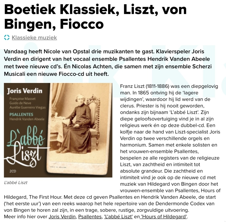 Op Klara Psallentes