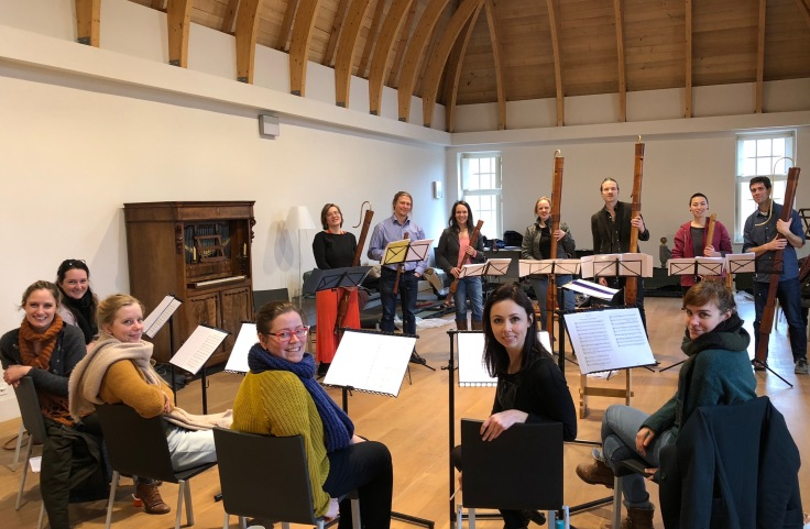 Psallentes and Royal Wind Music 2018 Rehearsal Hendrik Vanden Abeele