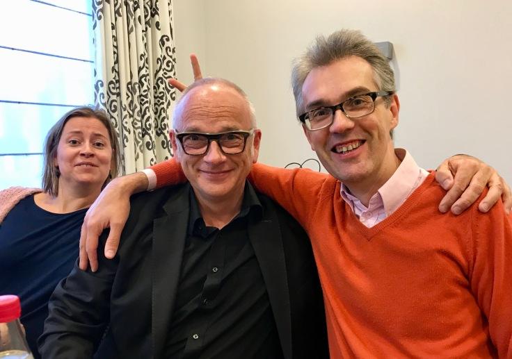 Arnaud te Brussel 2018 Ab Initio en Cornet