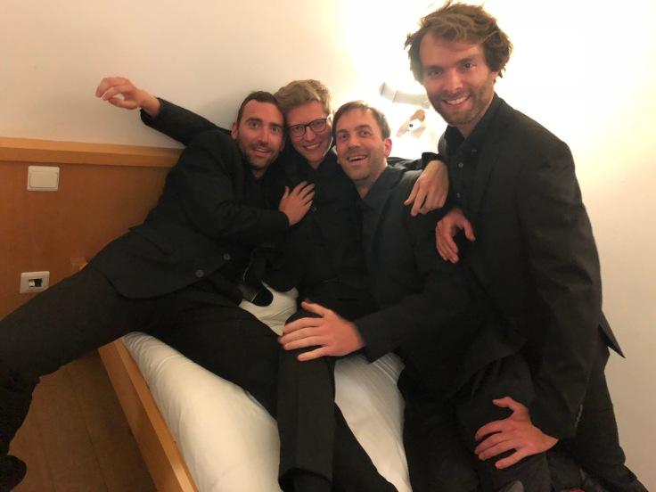 Michiel Haspeslagh Koen Uvyen Rob Cuppens Pieter Stas Psallentes 2018