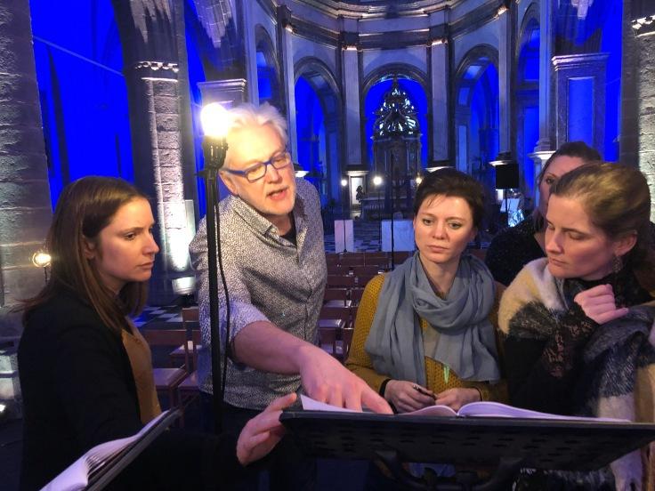 Psallentes Wim Henderickx Kortrijk Messe de Tournai