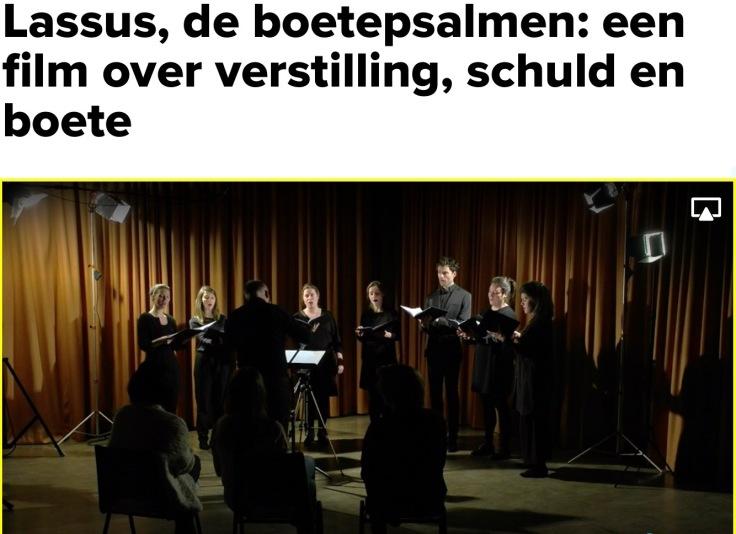 Psallentes Brugge Lassus Griet Teck
